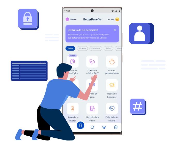 Una nueva aplicación móvil  diseñada para tus colaboradores